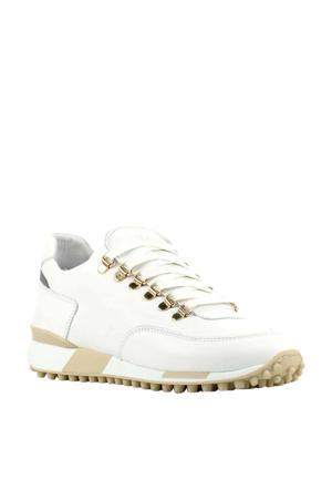 5412067  leren sneakers wit