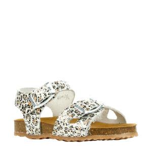48224  leren sandalen panterprint