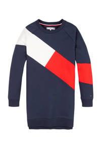 Tommy Hilfiger jurk, Donkerblauw/rood/wit