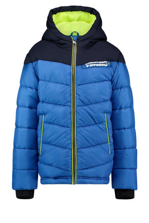 gewatteerde jas Tugra blauw/donkerblauw