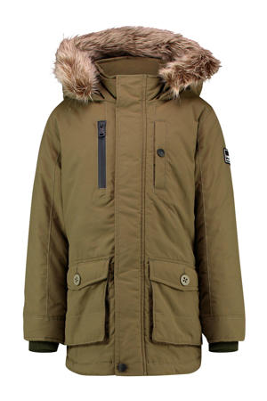 winter parka Taha army groen