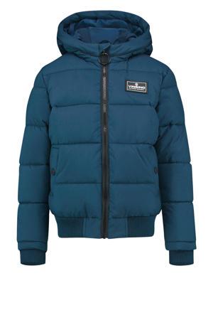 gewatteerde jas Tanju donkerblauw