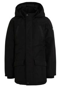 Vingino  winterjas Tjan zwart, Zwart
