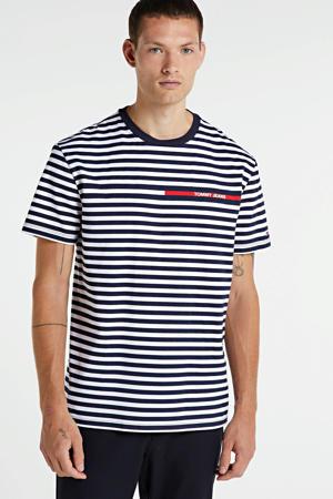 gestreept T-shirt van biologisch katoen zwart/wit