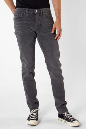 tapered fit jeans Jim rebel grey