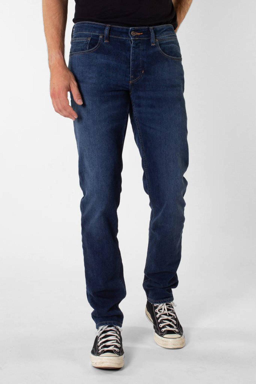 KUYICHI tapered fit jeans Jim classic indigo, Classic Indigo