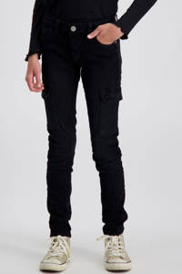 Cars skinny jeans Revi zwart, Zwart