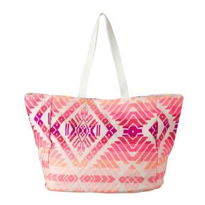 shopper beige/roze