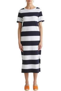 edc Women gestreepte maxi jurk blauw, Blauw
