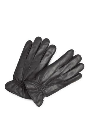leren handschoenen Tristan zwart
