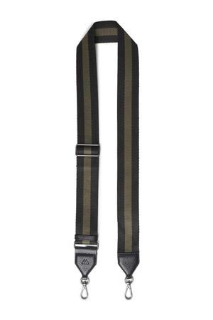 schouderband Finley zwart/olijfgroen