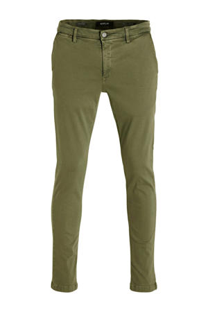 slim fit chino Zeumar kaki