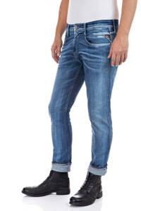 REPLAY slim fit jeans Anbass medium blue, Medium blue