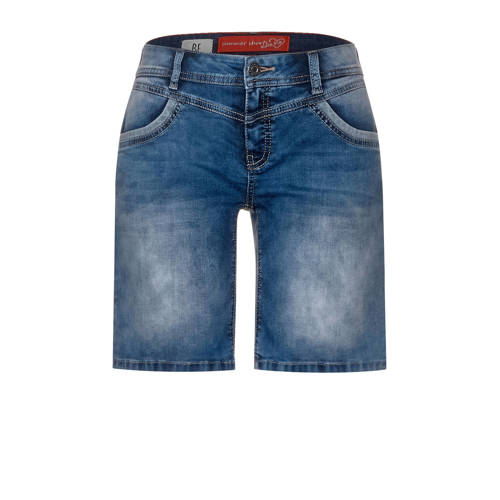 Street One jeans short blauw