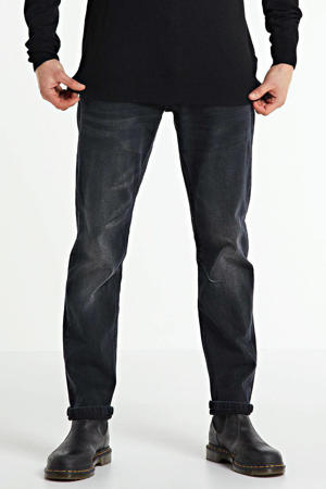 tapered fit jeans Blackstar zwart