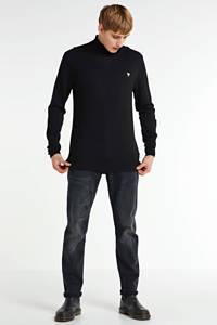 Cars tapered fit jeans Blackstar zwart, Zwart
