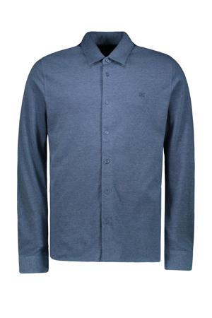 regular fit overhemd Hynk blauw