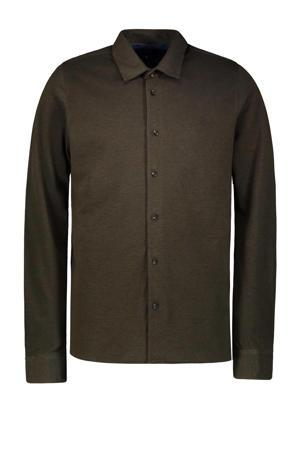 regular fit overhemd Hynk legergroen