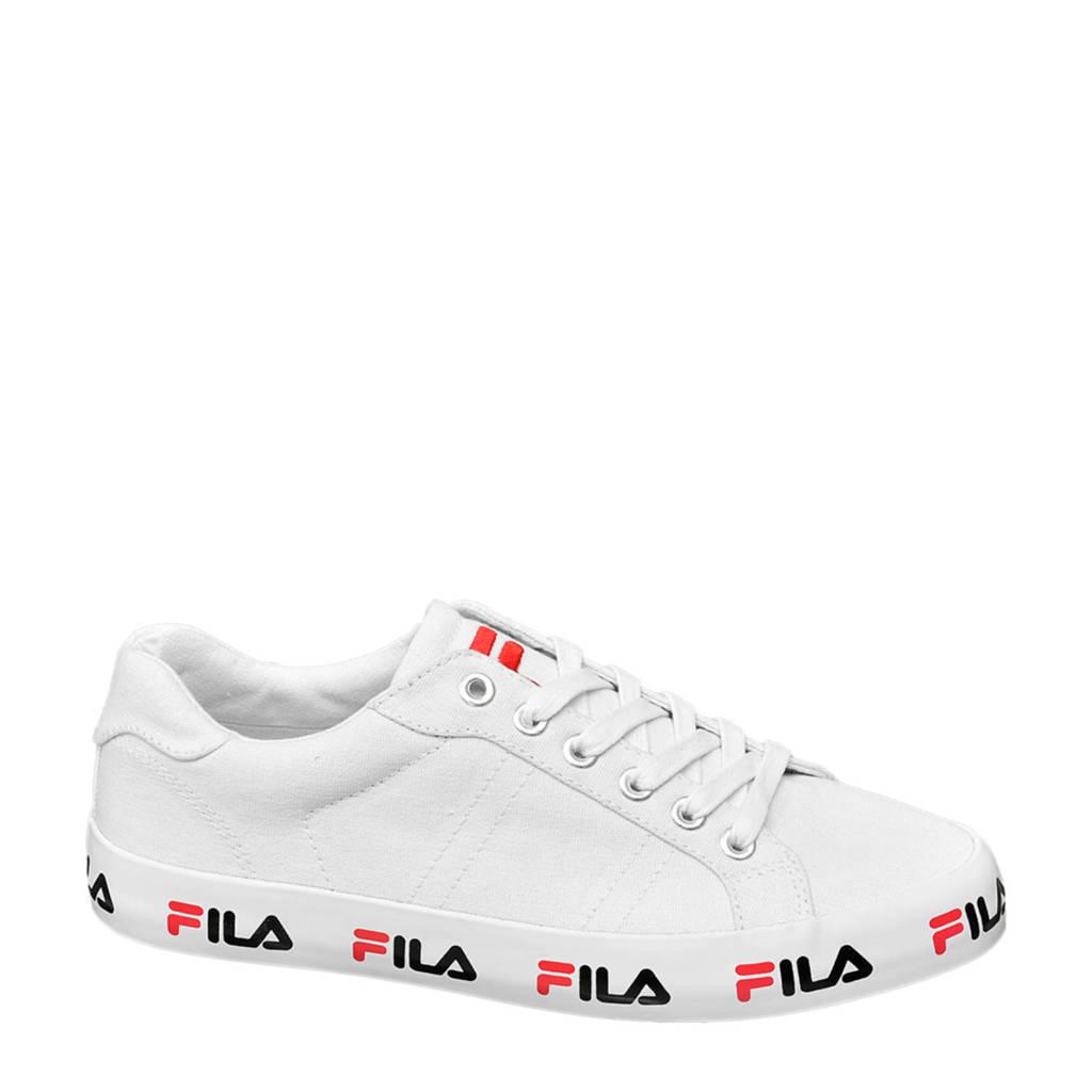 Fila   sneakers wit, Wit/zwart/rood