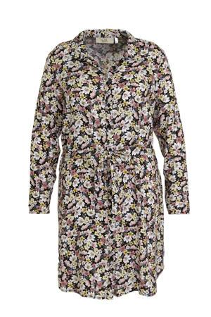 gebloemde blousejurk multicolor