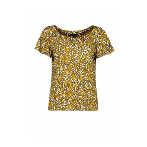 Claudia Str??ter T-shirt met all over print lime