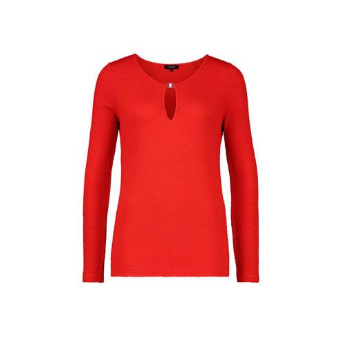 Claudia Str??ter T-shirt rood