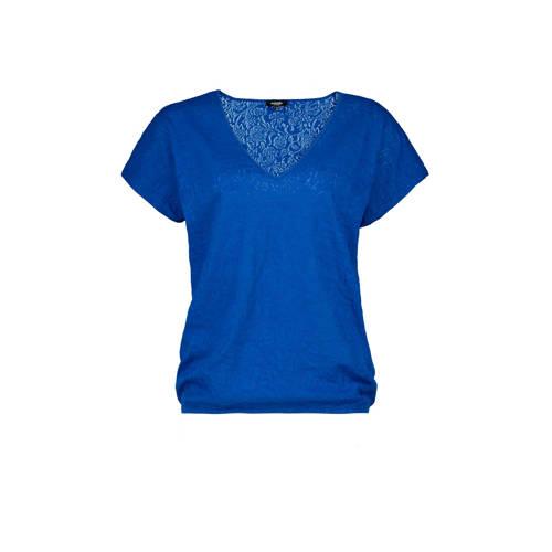 Claudia Str??ter T-shirt kobalt