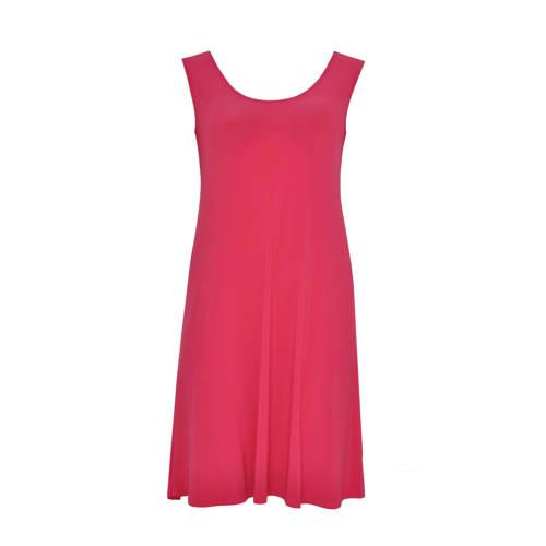 Yoek A-lijn jurk roze