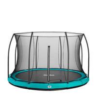 Salta Comfort Edition Ground trampoline Ø396 cm, Groen