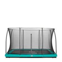 Salta Comfort Edition Ground trampoline 366x244 cm, Groen
