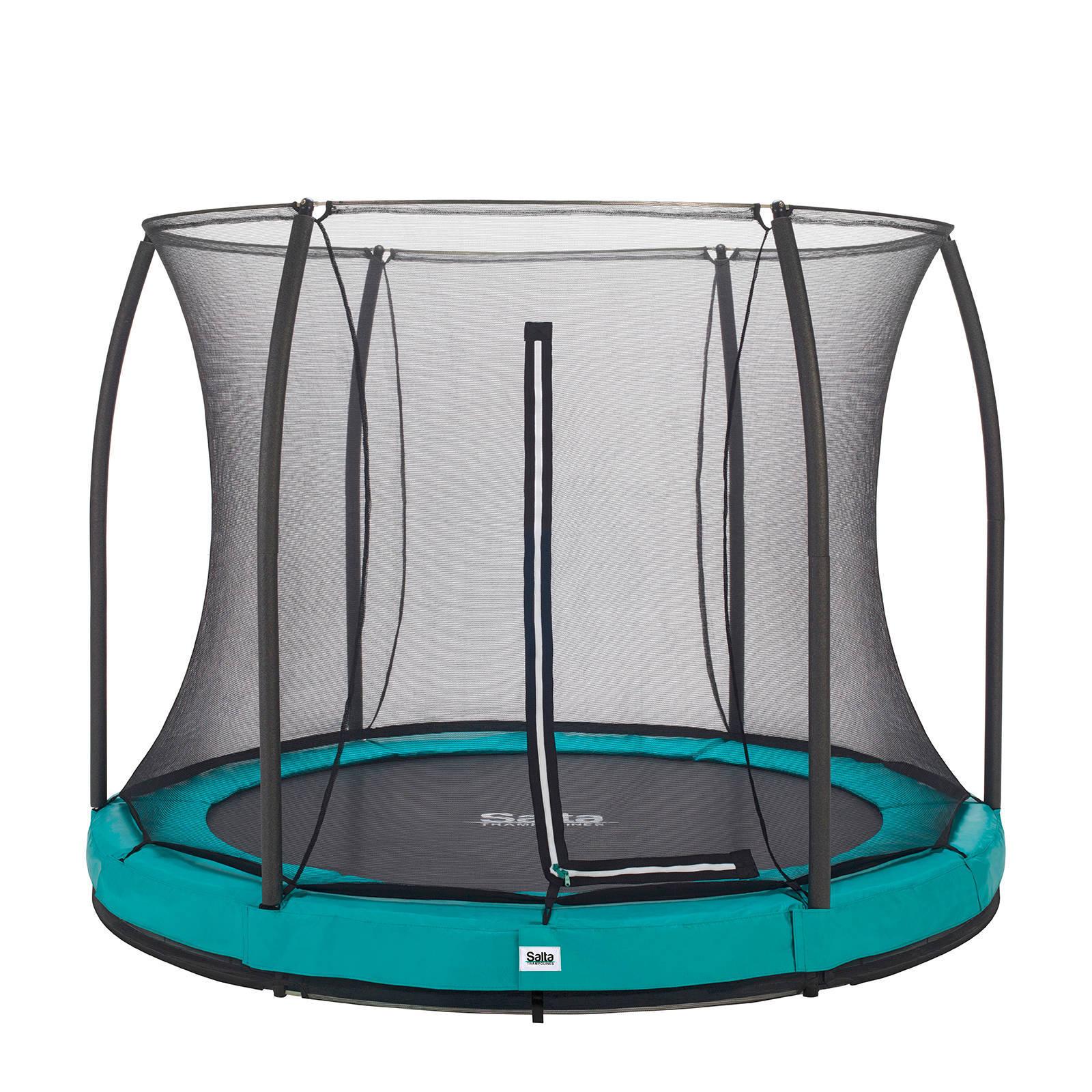 Salta Comfort Edition Ground trampoline Ø305 cm, Groen