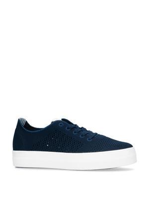 Leisha  plateau sneakers blauw