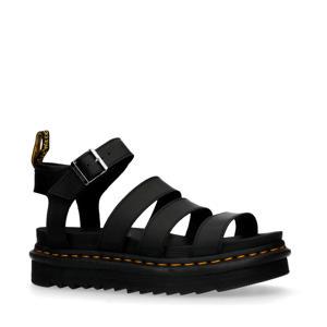 Vegan Blaire Brando  plateau sandalen zwart