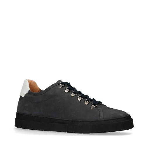 Sacha nubuck sneakers donkerblauw