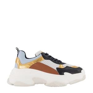 Bindi  chunky sneakers donkerblauw/multi
