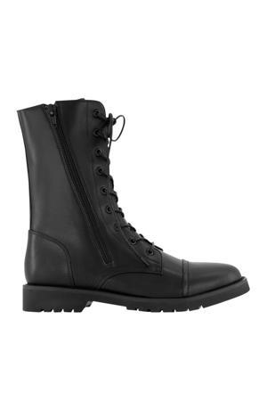 Becky Boots  veterboots zwart