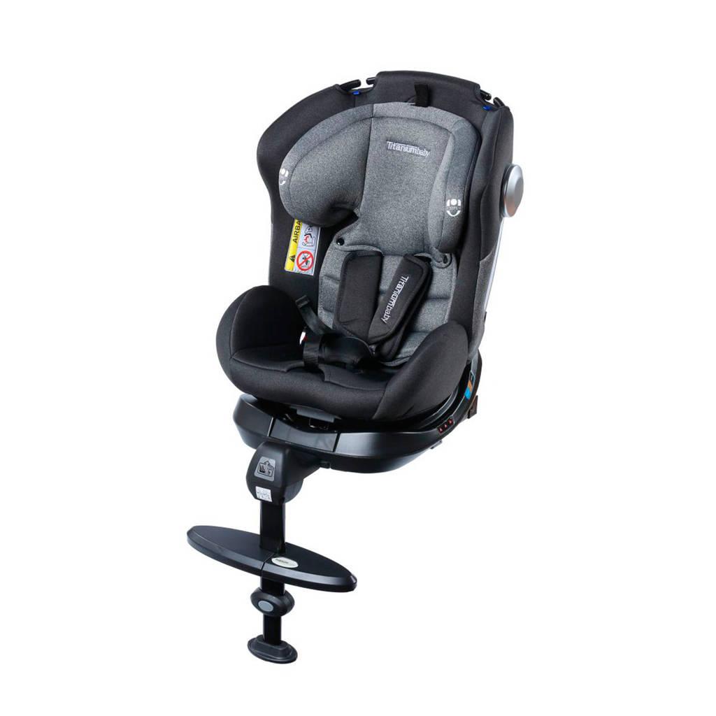 Titaniumbaby autostoel Nitro 360, Zwart