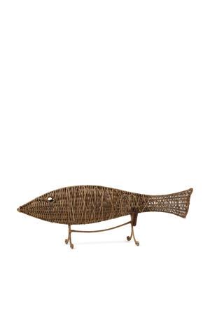 ornament Rustic Rattan Ocean Reef Fish
