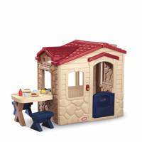 Little Tikes speelhuis Picknic, Beige/donkerrood