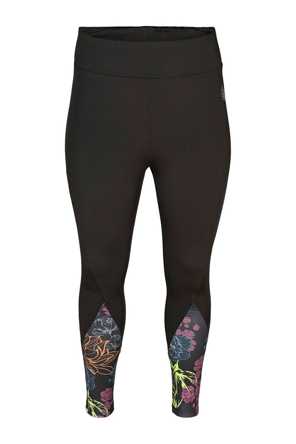 ACTIVE By Zizzi Plus Size sportbroek zwart, Zwart