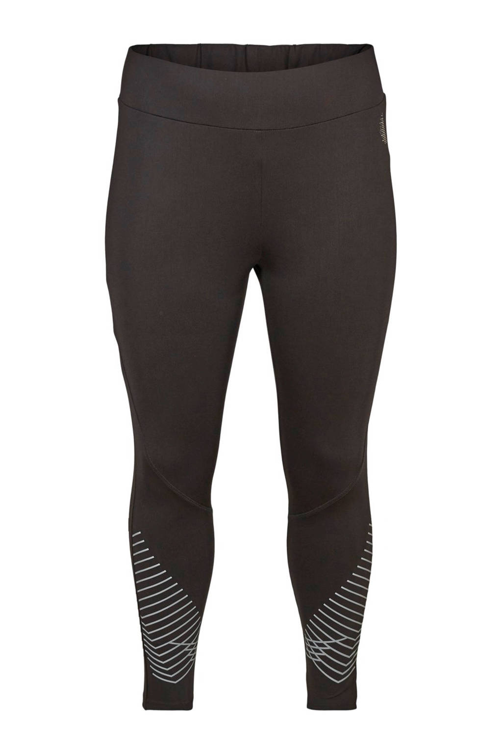 ACTIVE By Zizzi Plus Size sportbroek zwart, Zwart