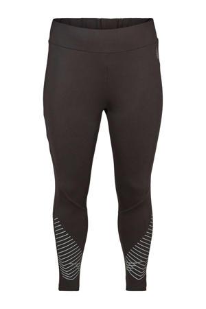 Plus Size sportbroek zwart