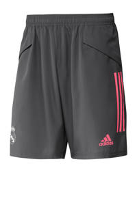 adidas Performance Senior Real Madrid voetbalshort, Grijs