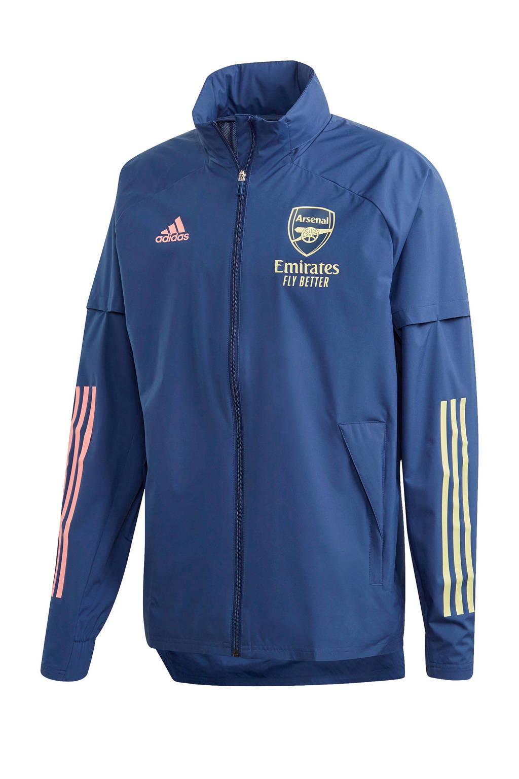 adidas Performance Senior Arsenal FC jack donkerblauw, Blauw