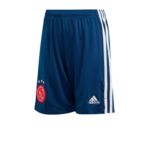 adidas Performance Junior Ajax uit short donkerbla