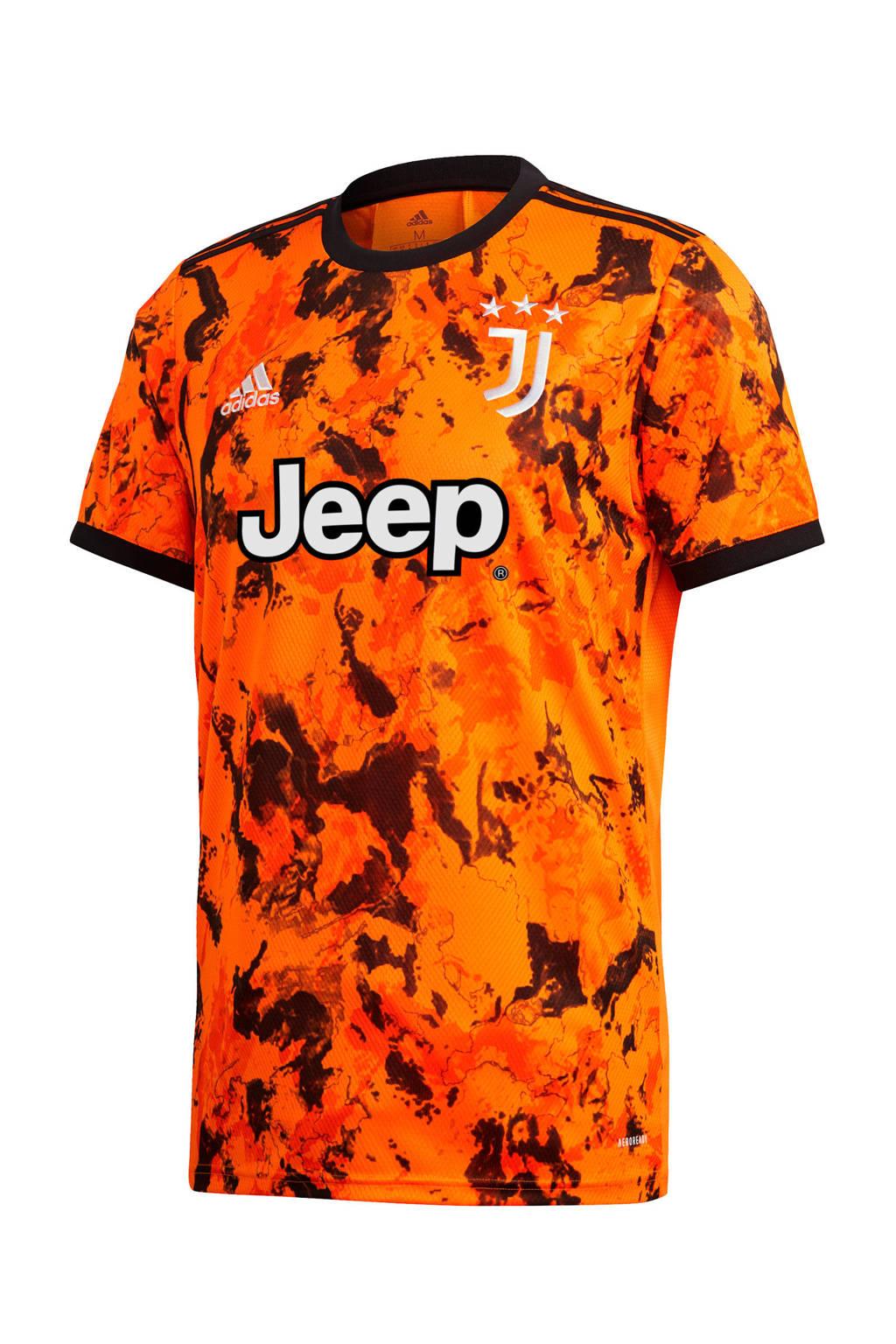 adidas Performance Senior Juventus voetbalshirt, Oranje
