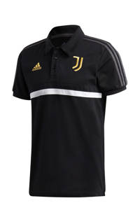 adidas Performance Senior Juventus polo zwart, Zwart
