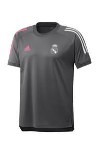 adidas Performance Senior Real Madrid voetbalshirt Training, Grijs