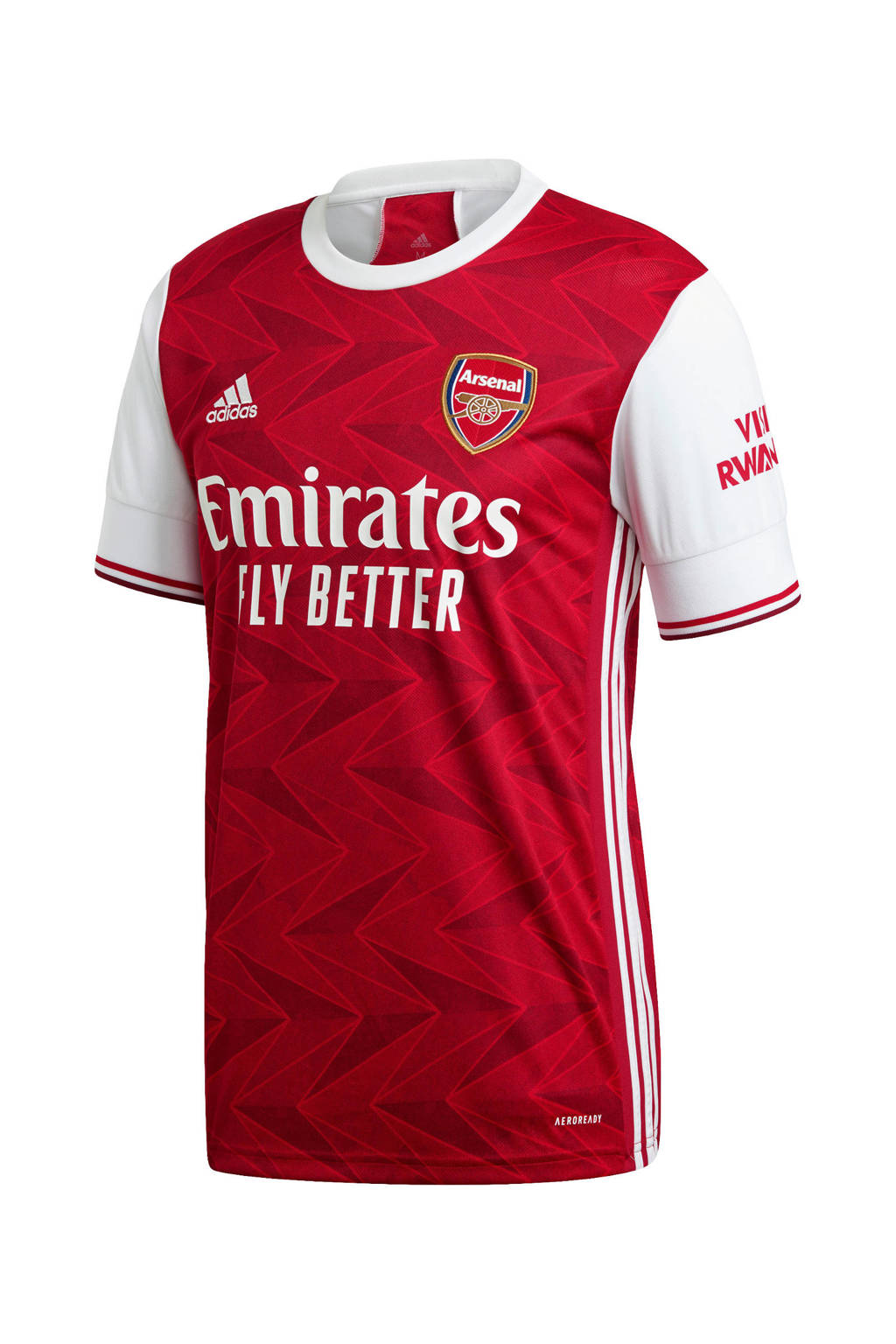 adidas Performance Senior Arsenal FC voetbalshirt Thuis rood/wit, Rood/wit