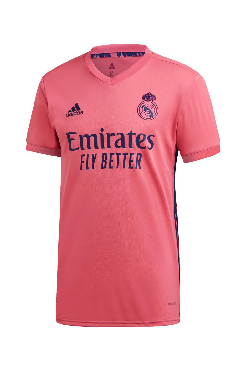 adidas Performance Senior Real Madrid uit shirt roze, Roze